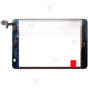 Touch screen with IC connector and home button assembly Compatible For iPad mini / mini 2, (Premium)