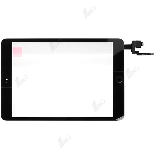 Touch Screen with IC connector and home button assembly  Compatible For iPad mini 3, Refurbished(original material)