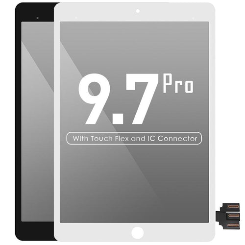 LCD with Touch Screen Assembly and IC Connector Compatible For iPad Pro 9.7 original material