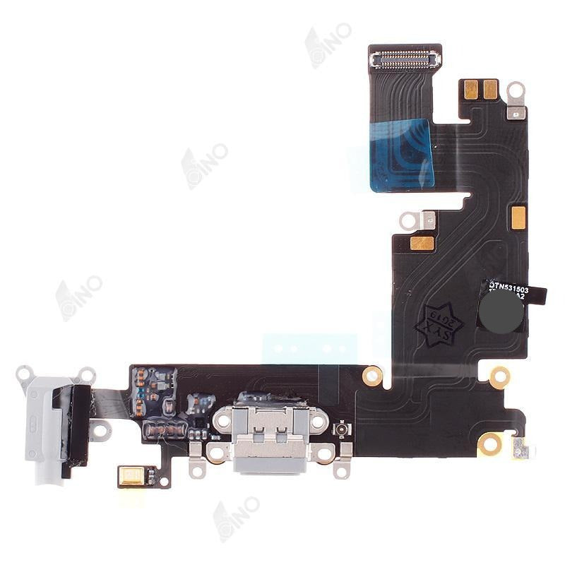Charging Port Flex Compatible For iPhone 6 Plus