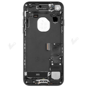 Back Housing with Small Parts Compatible For iPhone 7 (no logo)