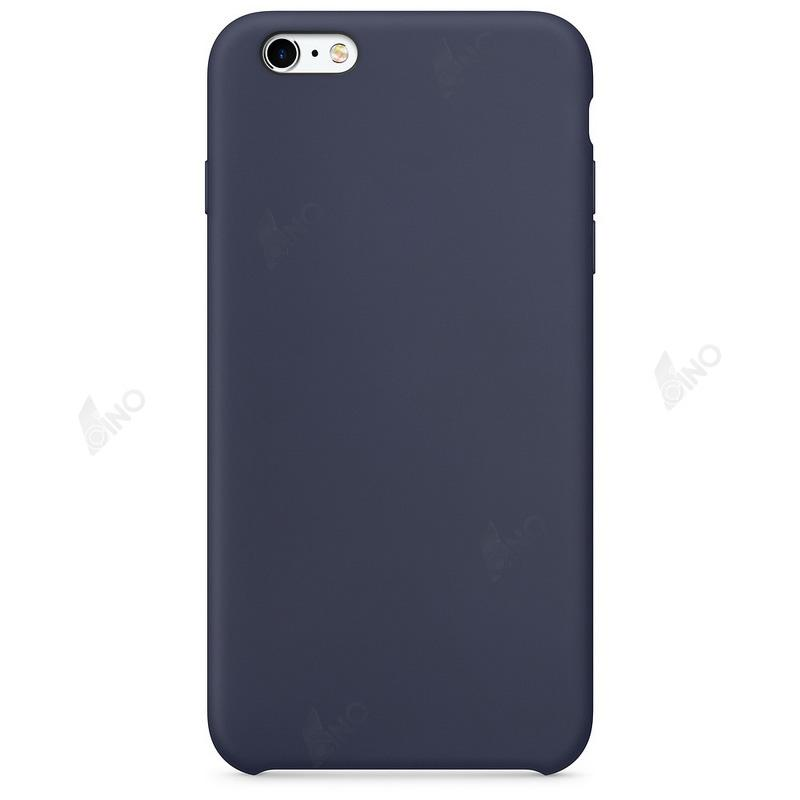 Protective Phone Case Compatible For iPhone 6 Plus(Silicone,Midnight Blue)