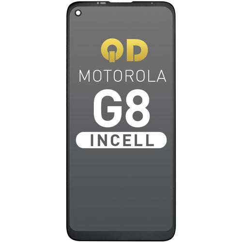 LCD Assembly Compatible For Motorola  G8,QD INCELL