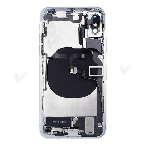 Back Housing with Small Components Compatible For iPhone XS (no logo)