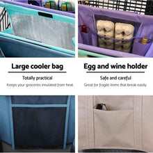 Load image into Gallery viewer, Lotus Trolley Bag 3.0 - Set of 4 with Large Insulated/Cooler Bag - The reusable shopping bags solution