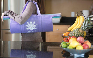 Lotus Trolley Bag 3.0 - Set of 4 with Large Insulated/Cooler Bag - The reusable shopping bags solution