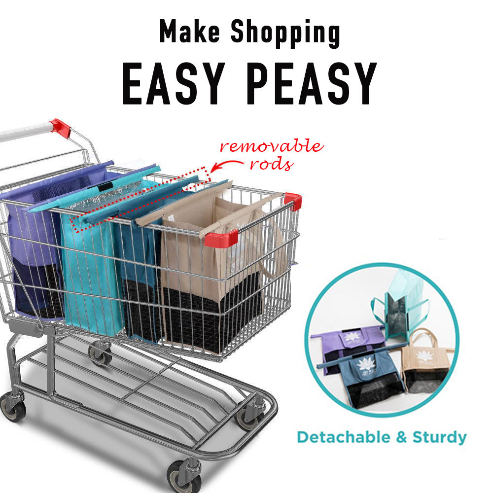 Lotus Trolley Bag - The reusable shopping bags solution