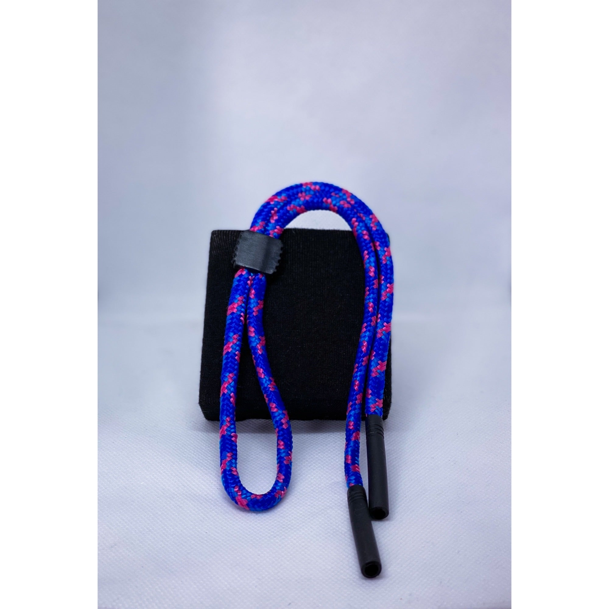 Glasses cord with adjustable strap