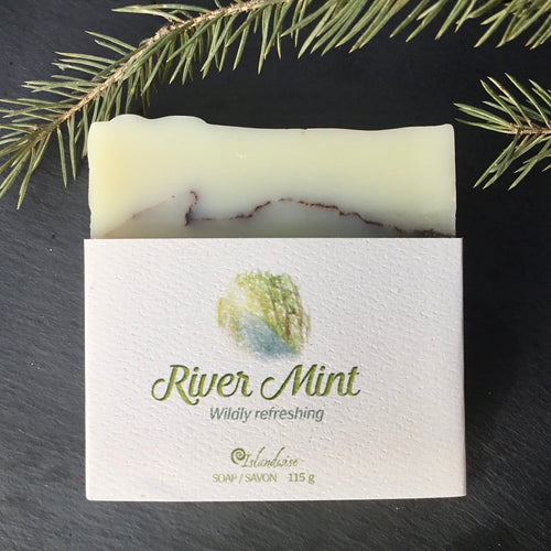River Mint Soap