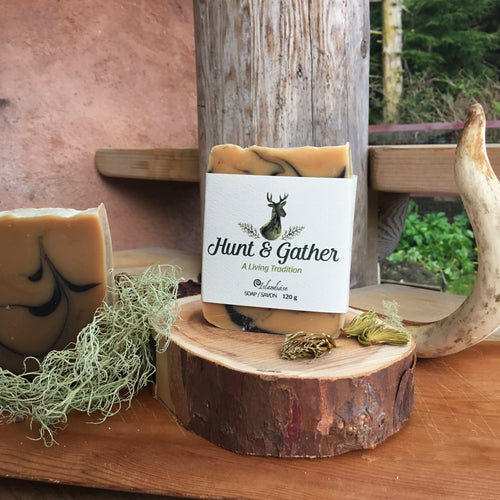 Haida Gwaii Islanwise Hunt & and Gather Soap deer tallow
