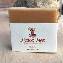 Load image into Gallery viewer, Peace Tree Patchouli Orange Soap Handcrafted Haida Gwaii