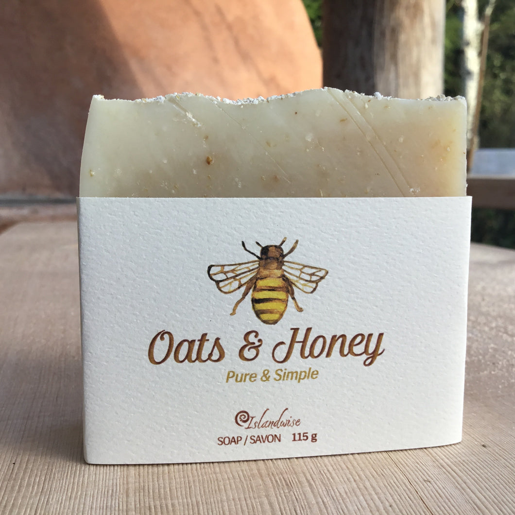 Oats & Honey Soap