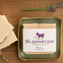 Load image into Gallery viewer, The Lavender Goat Soap