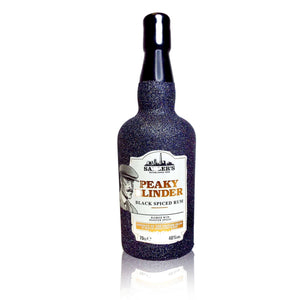 Limited Edition Peaky Blinders Rum Glitter Bottle 70cl - glitter prosecco