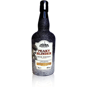 Limited Edition Peaky Blinders Whiskey Glitter Bottle 70cl - glitter prosecco