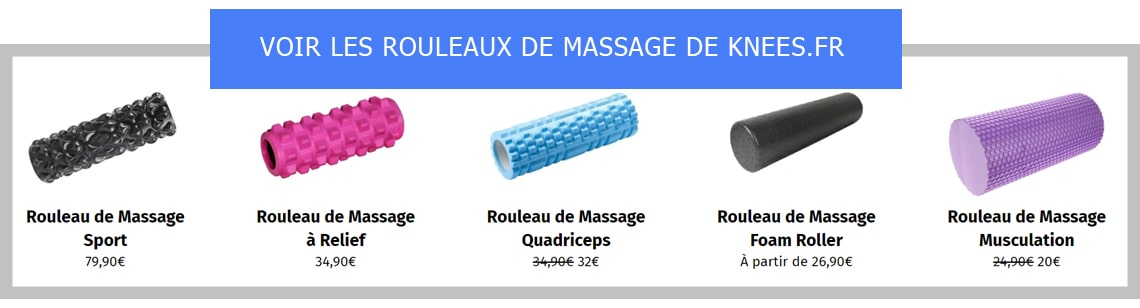 rouleau massage genou