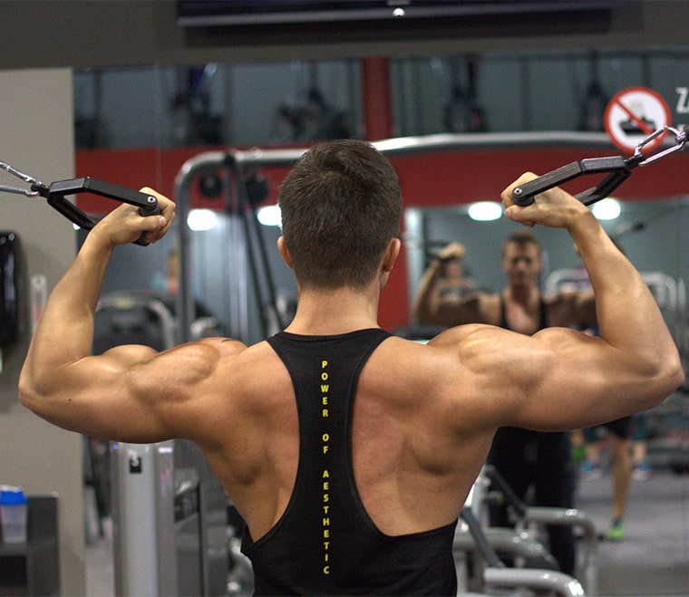 Homme musculation