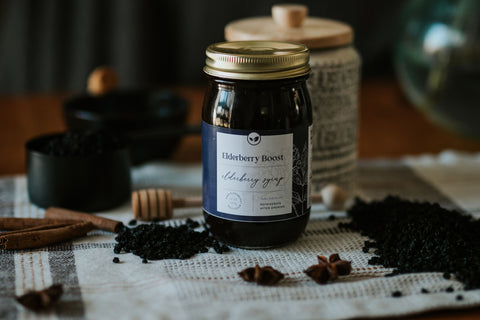 The Best Elderberry Syrup