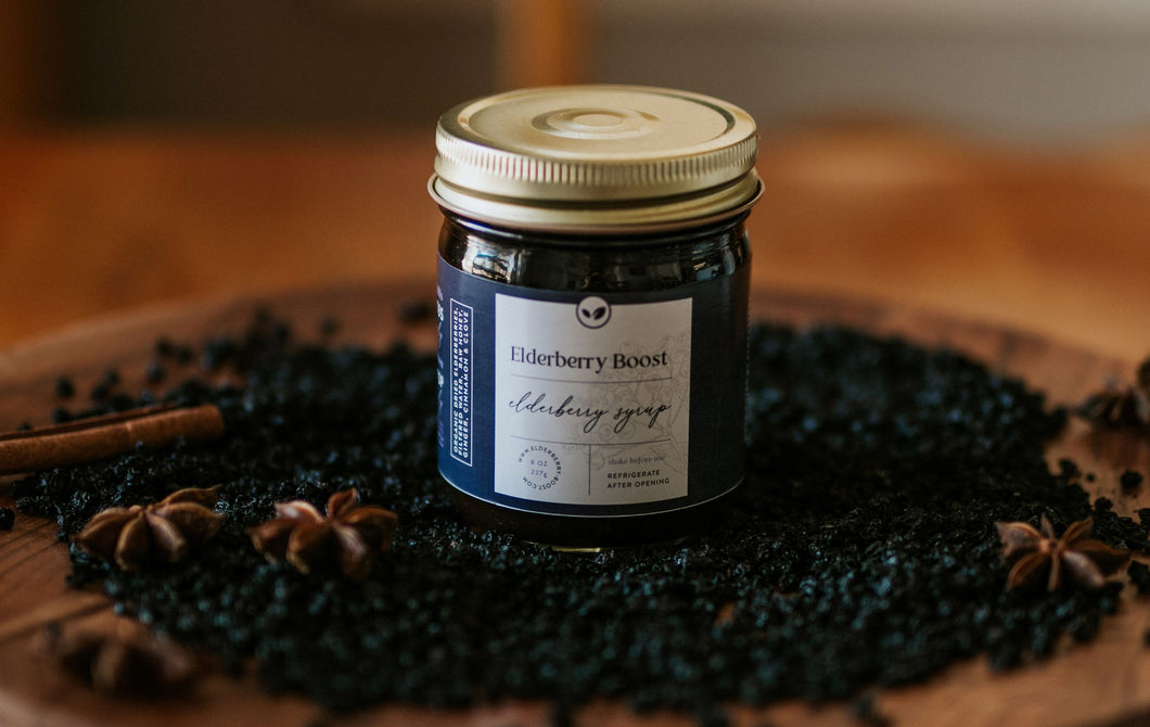 Organic Elderberry Boost (8 oz) - Elderberry Boost, LLC