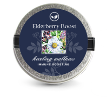 Load image into Gallery viewer, Elderberry Boost Tea Sampler  3 Mini Tins - Elderberry Boost, LLC