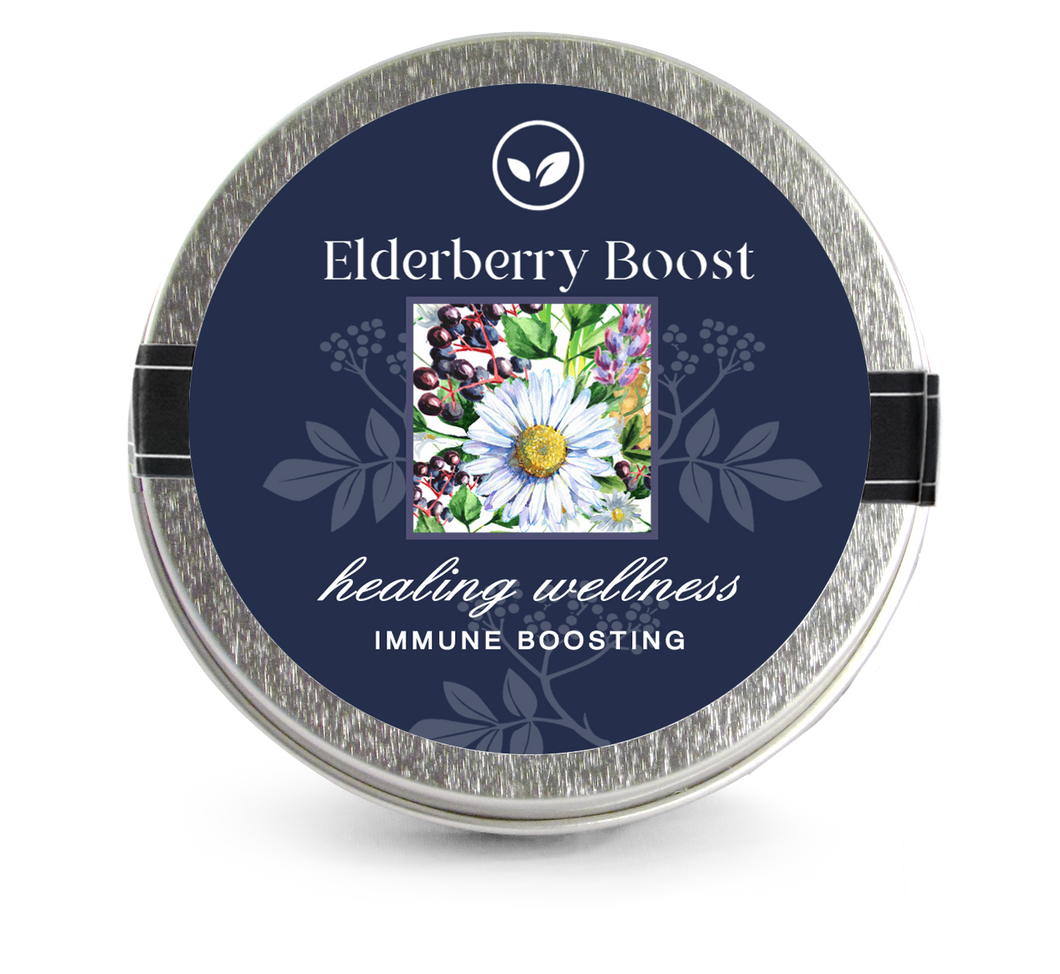 Elderberry Boost Tea Sampler  3 Mini Tins - Elderberry Boost, LLC