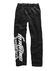 """Chain"" - Sweatpants (White/Black)"