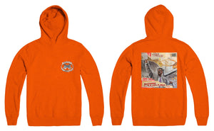 """Addie Calipari"" x Marino Infantry - Logo Hoodie (Orange - Reversed)"