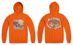 """Addie Calipari"" x Marino Infantry - Logo Hoodie (Orange)"