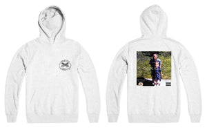 """The Interlude"" x Marino Infantry - Logo Hoodie (White - Reversed)"