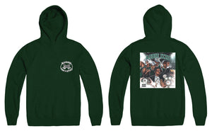 """Addie Izzo"" x Marino Infantry - Logo Hoodie (Green - Reversed)"