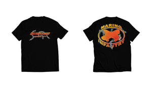 "Marino Infantry ""Chain"" - Tee (Orange/Black)"