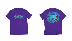 "Marino Infantry ""Chain"" - Tee (Blue/Purple)"