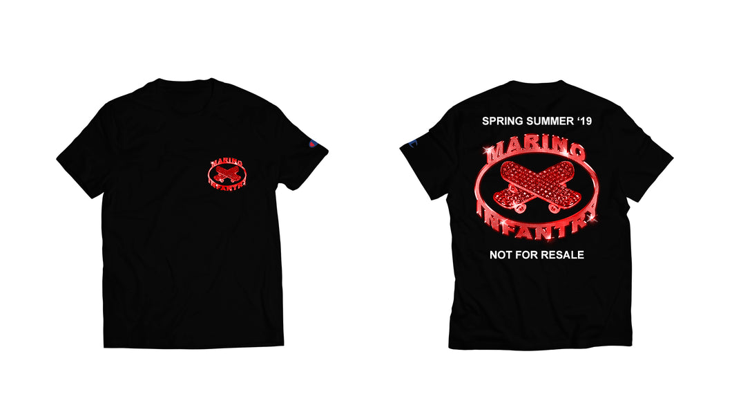 Not For Resale - Tee (Red/Black)