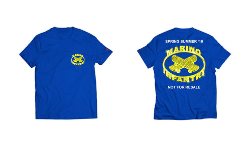 Not For Resale - Tee (Yellow/Blue)