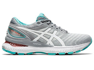 Womens Asics Gel-Nimbus 22 Sheet Rock/White(020)