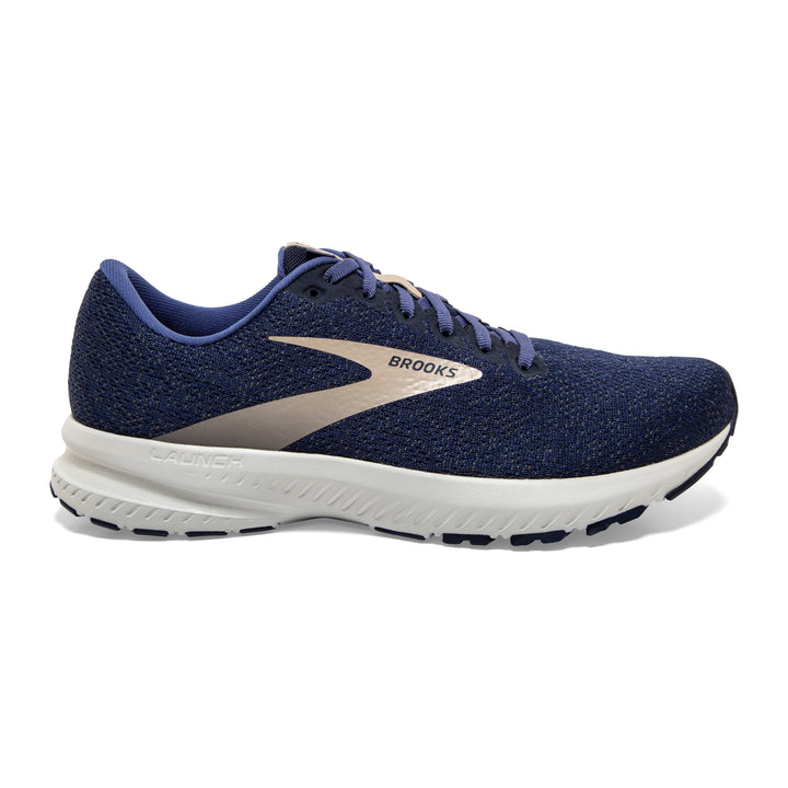 Mens Brooks Launch 7  Navy/Cobblestone/Grey(402)