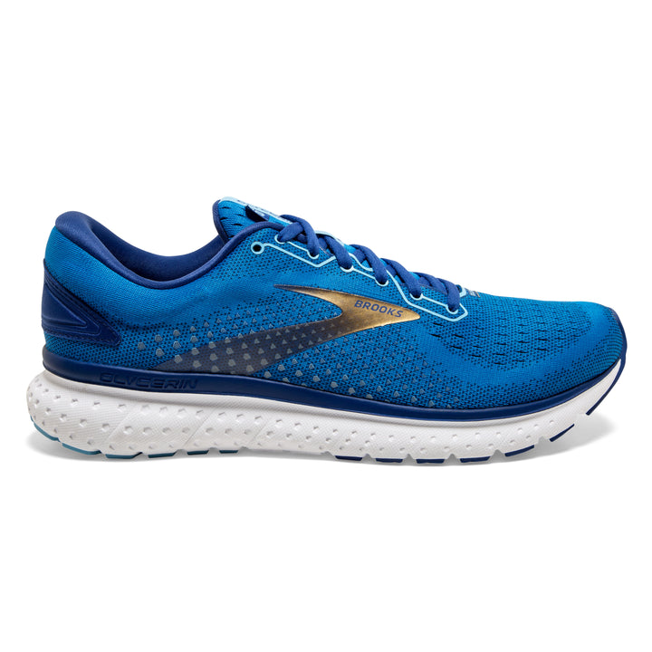 Mens Brooks Glycerin 18  Blue/Gold(459)