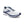Mens Brooks Ghost 13  White/Grey/Deep Cobalt(161)(4E)