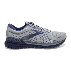 Mens Brooks Adrenaline GTS 21  Grey/Tradewinds/Cobalt(006)