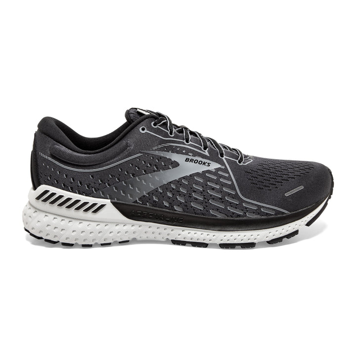 Mens Brooks Adrenaline GTS 21  Blackened Pearl/ Black/Grey(4E)
