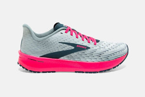Womens Brooks Hyperion Tempo   Ice Flow/Navy/Pink