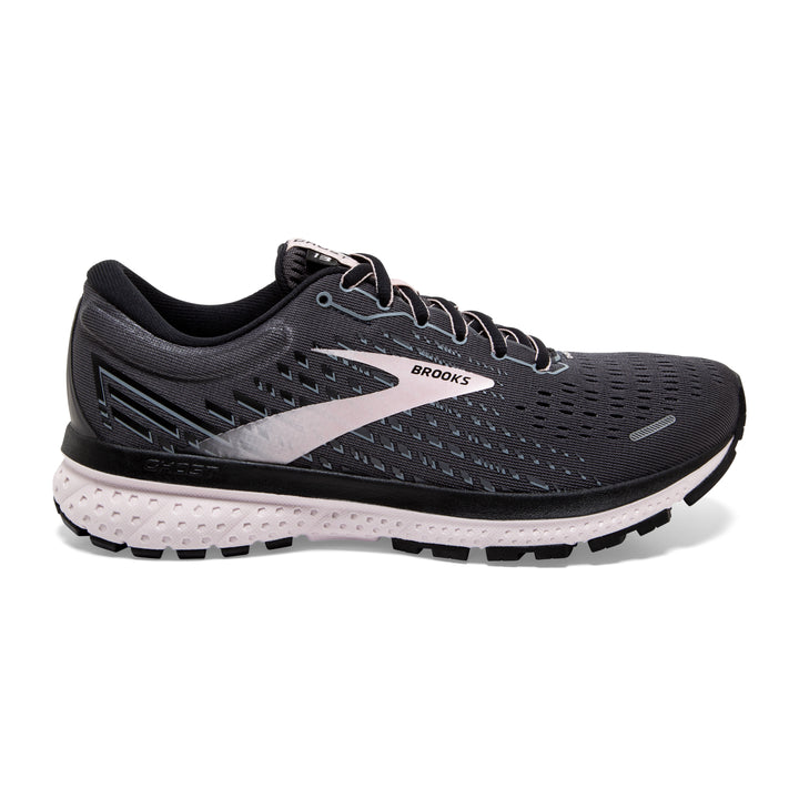 Womens Brooks Ghost 13  Black/Pearl (062)