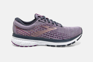 Womens Brooks Ghost 13  Lavender/Ombre/Metallic(550)