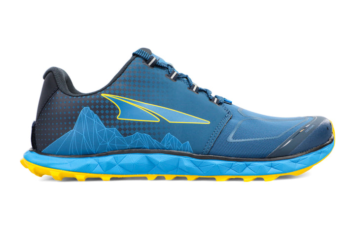 Mens Altra Superior 4.5 Blue/Yellow