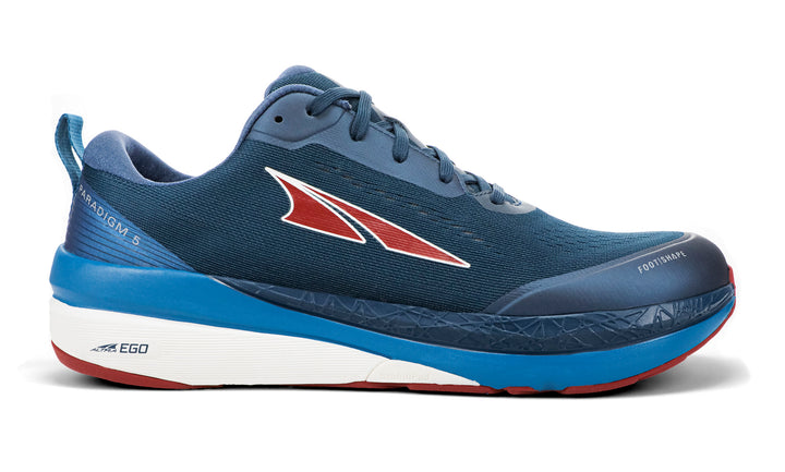 Mens Altra Paradigm 5  Blue/Red