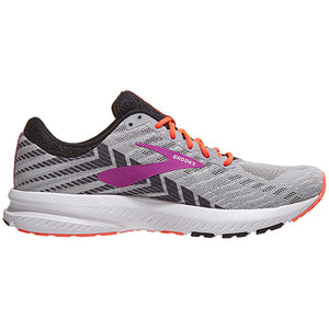 Brooks Launch 6 Grey/Black/Purple
