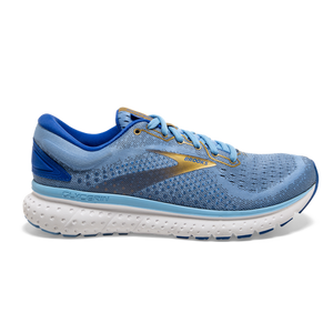 Womens Brooks Glycerin 18  Cornflower/Blue/Gold(470)