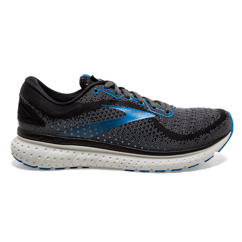 Mens Brooks Glycerin 18  Black/Ebony/Blue(064)