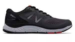 New Balance M840v4 (4E) Magnet/Energy Red (GR)