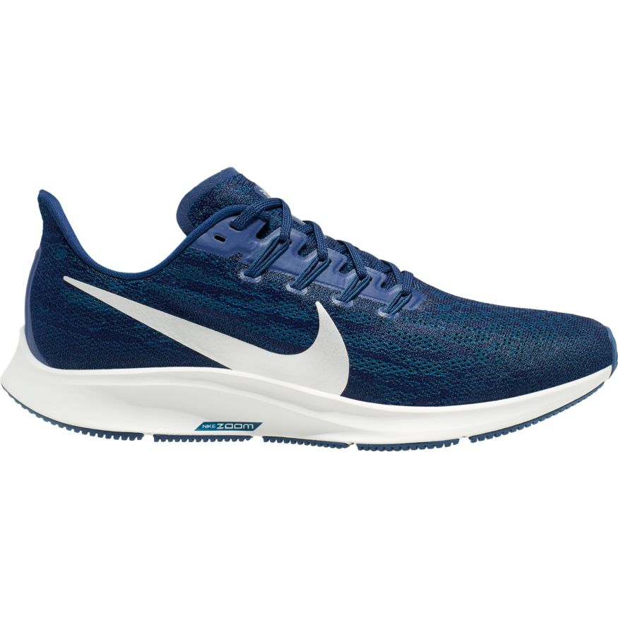 Nike AIr Zoom Pegasus 36 Blue Void/Metallic Silver (401)